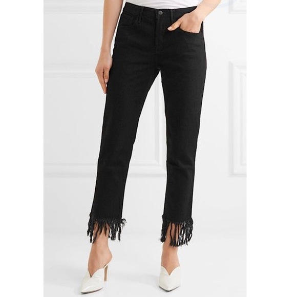 3x1 Denim - 3x1 WM3 cropped fringe jeans - brand new with tags